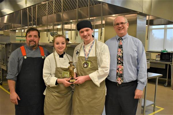 School District Five students shine in culinary arts competition